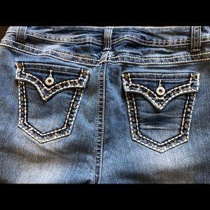 Denim - Jeans with sequins